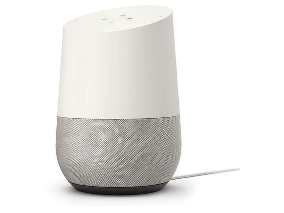 De Google Home (met Google Assistant)