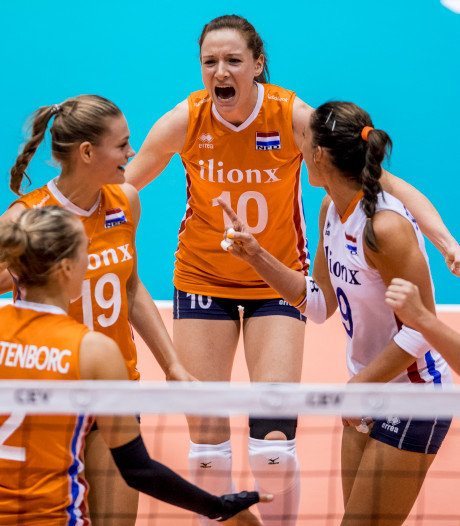Volleybalsters sluiten tweede ronde Nations League af met winst