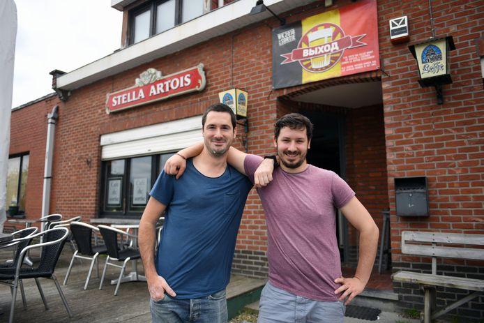 Brecht Vanbrussel laat zijn café Sortie over aan zijn broer Sander