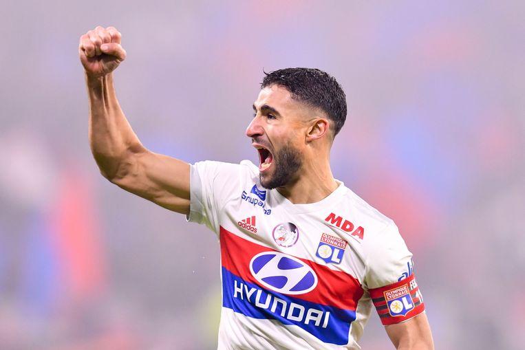 Fekir trof al 13 keer raak in de Ligue 1.