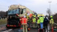 Trucker rijdt in op file door eerder ongeval: E34  opnieuw vrijgemaakt
