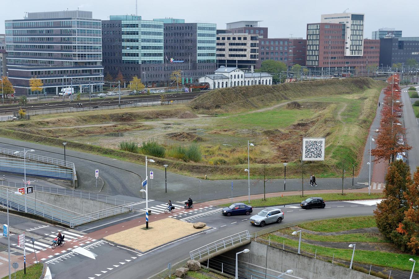 Het Trapezium komt als beste uit de bus als nieuwe locatie voor het Amersfoortse stadhuis.
