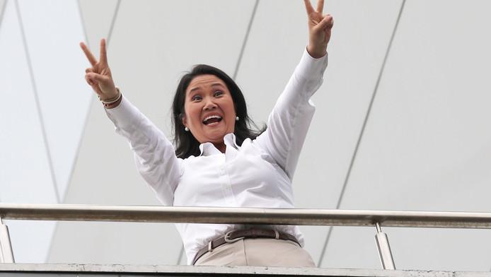Presidentskandidaat Keiko Fujimori.