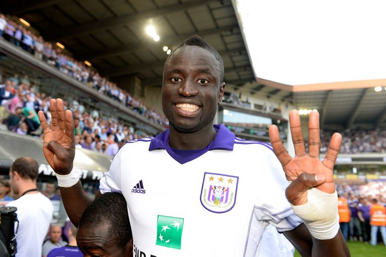 Voormalig Anderlechtmiddenvelder Cheikhou Kouyate stapte deze zomer over van West Ham naar Crystal Palace.