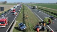 Zwaar ongeval op E40 met file tot gevolg