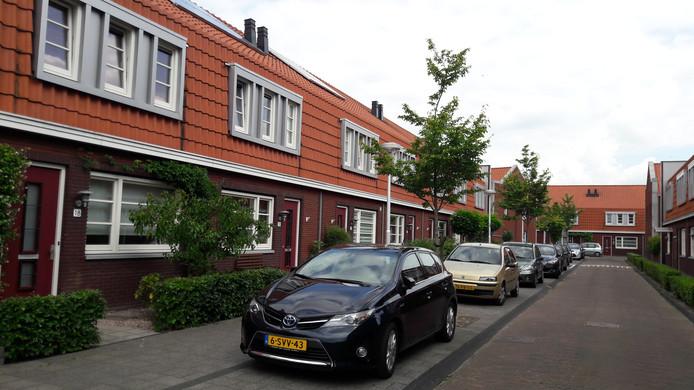 De Moerbeistraat is een van de straten met een defecte stadsverwarming.