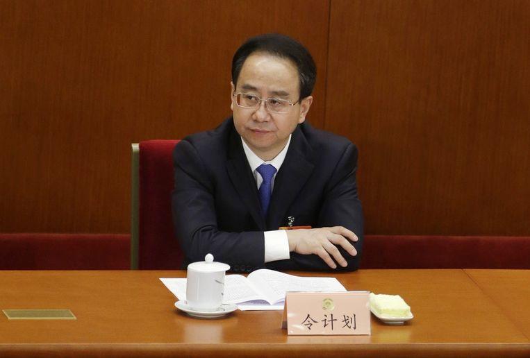 De van corruptie beschuldigde politicus Ling Jihua Beeld null