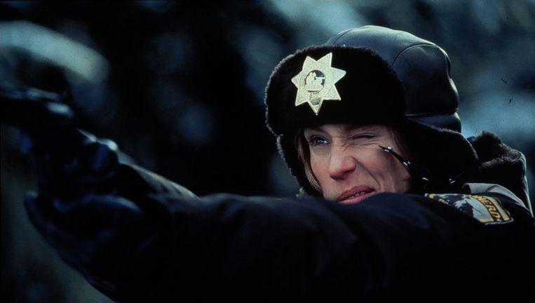 Frances McDormand in de film Fargo (1996). Vanaf vandaag is de serie Fargo te zien op Netflix. Zonder McDormand. Beeld ANP