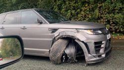 Agüero opnieuw met de schrik vrij na auto-ongeluk