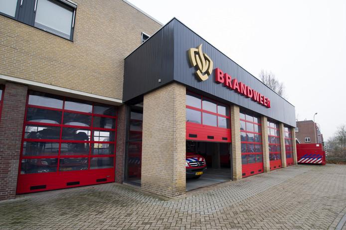 De brandweerkazerne in Almelo