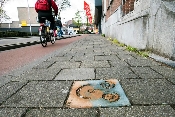 SmileTile  aan de Zomerstraat.