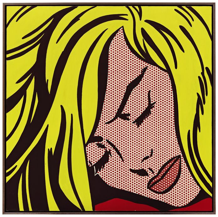 'Sleeping girl' van Roy Lichtenstein.