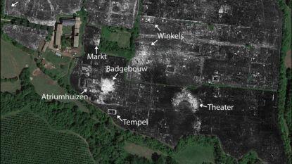 Ondergrondse Romeinse stad voor het eerst volledig in kaart gebracht door UGent