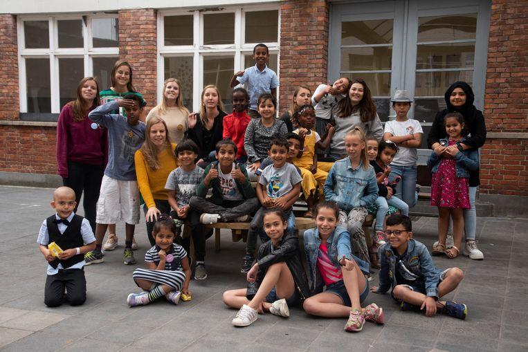 Anderstalige kinderen volgden een taalkamp in Wetteren.