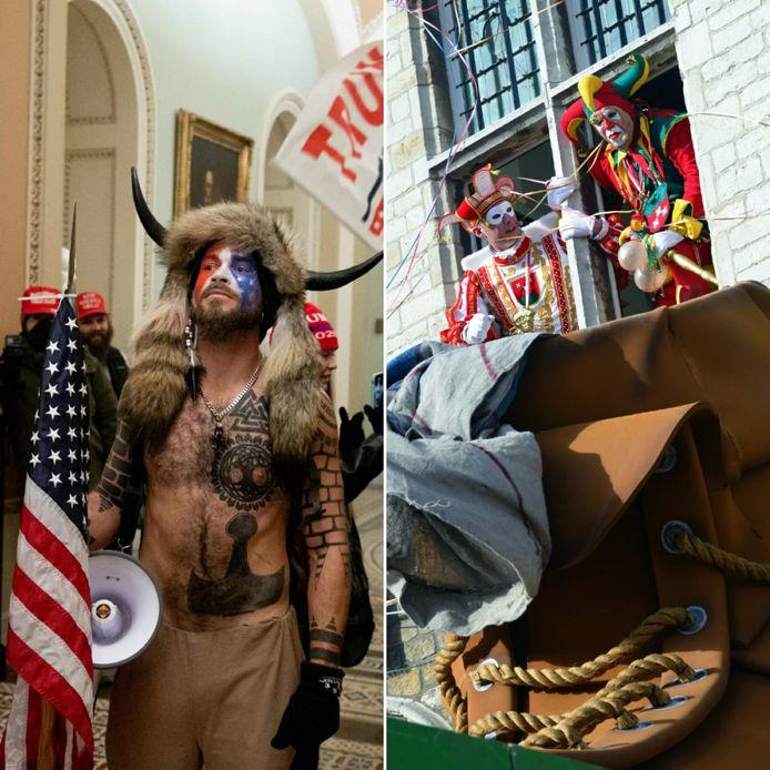 Na de rumoerige kijkdag bij het Capitool in Washington lijkt een bezichtiging om het Bergse stadhuis te verkopen even geen aanrader. Het Amerikaanse carnaval is toch minder leutig dan de Bergse Vastenavend.