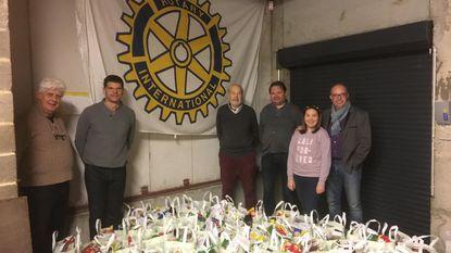 Rotary deelt 75 kerstpakketten uit aan kwetsbare gezinnen