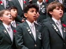 Canadees schoolkoor bezoekt Bergen op Zoom