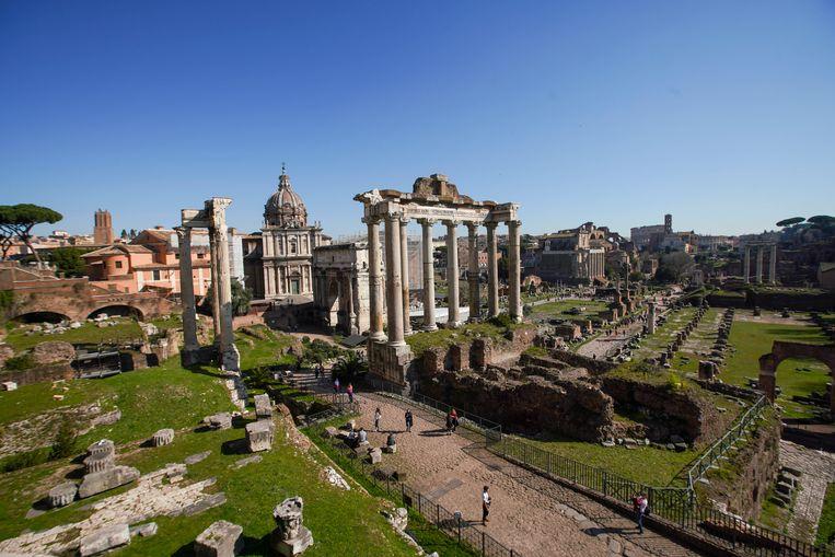 Het Forum Romanum in Rome. Beeld AP