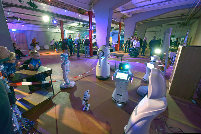 De familie robotten van Smartrobot.solutions in Elst.