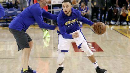Stephen Curry weken aan de kant met knieblessure, play-offs in gedrang