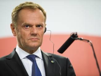 """Tusk: """"Schengen-verdrag redden is een race tegen de tijd"""""""