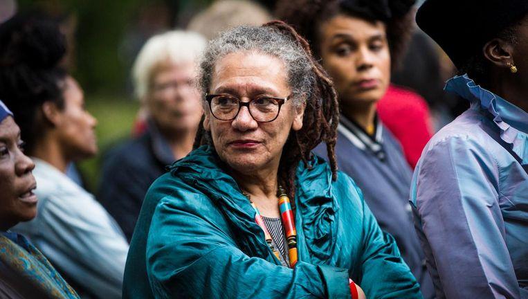Gloria Wekker onderzocht het diversiteitsbeleid van de UvA. Beeld Maarten Brante