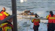 Vluchteling die met zelfgemaakt vlot naar Engeland wou uit zee gehaald