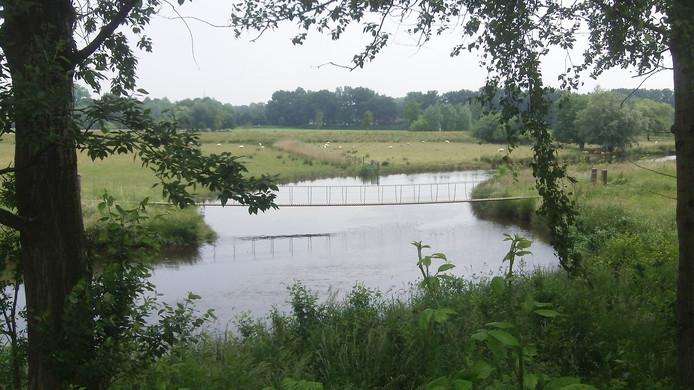 De Essche Stroom, gezien vanaf landgoed Bleijendijk bij Vught
