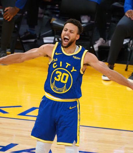 Stephen Curry helpt Warriors nu wel voorbij Clippers