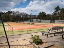 Grote leegloop bij tennispark Dieren als gevolg van conflict met club