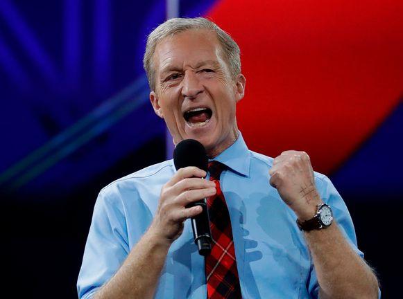 De Democratische presidentskandidaat Tom Steyer.