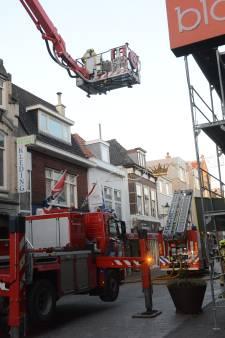 Flinke rook bij brand in restaurant aan Keizerstraat