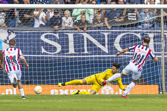 De penalty met een hupje van Fran Sol