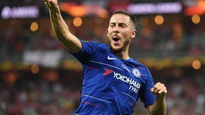 CEO van Real Madrid wil deal met Chelsea over Hazard in Londen afronden