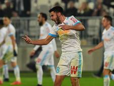Sanson redt in blessuretijd punt voor Olympique Marseille