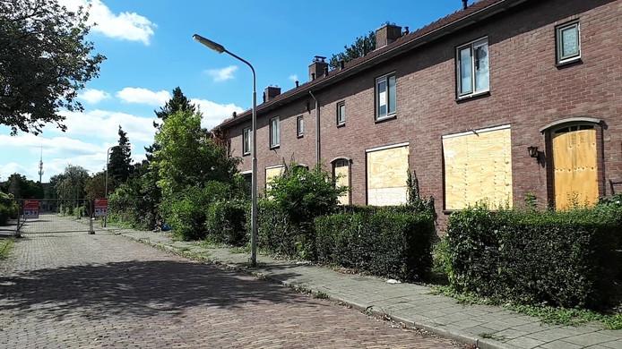 De sloopwoningen in Haarwijk, Gorinchem.