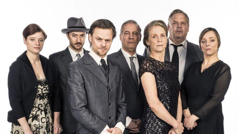 Familieportret van Van Waveren, door het Ro Theater. Beeld Marie Wanders