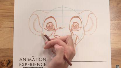Tips van mama's voor mama's: de Disney tekencursus