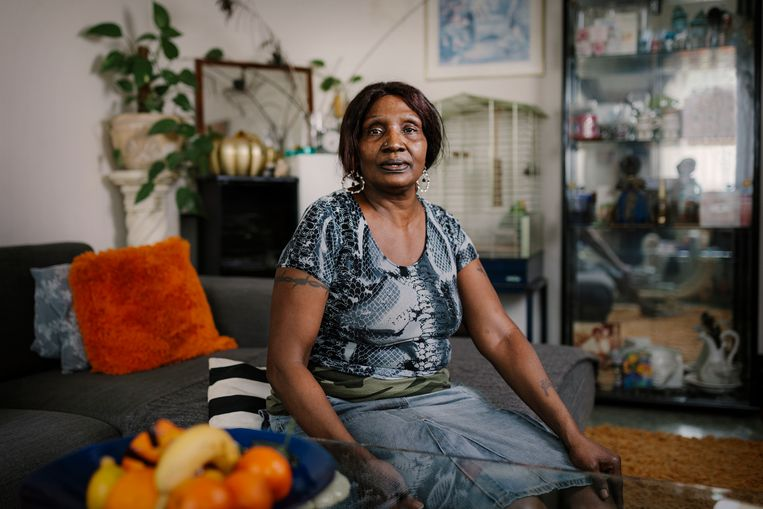 Yvonne Pas: 'Rappange, ik word ziek als ik de naam hoor.' Beeld Marc Driessen