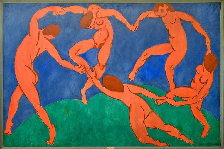 La Danse (1910) van Henri Matisse Beeld Alamy Stock Photo