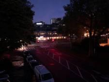 Dordrecht en Zwijndrecht kort in het donker door storing