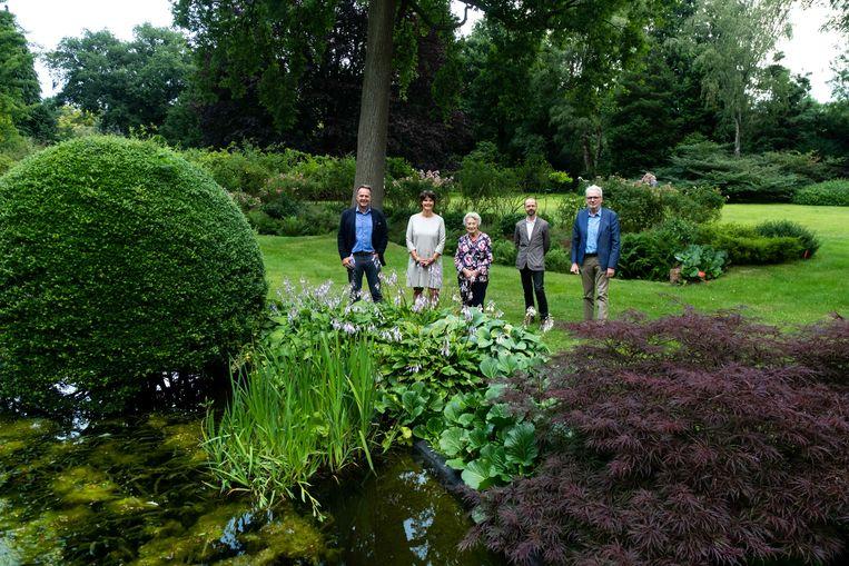 Het Arboretum Kalmthout breidt uit met ruim één hectare. In picture: familie Hubbe.