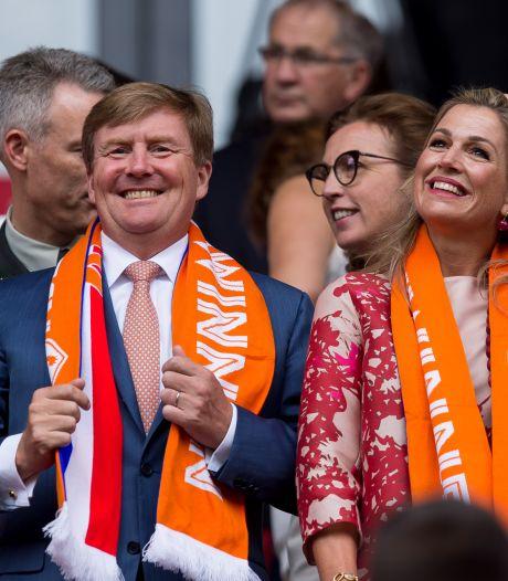 Koninklijk bezoek bij WK-finale, ook Van Dijk en Van Gaal van de partij