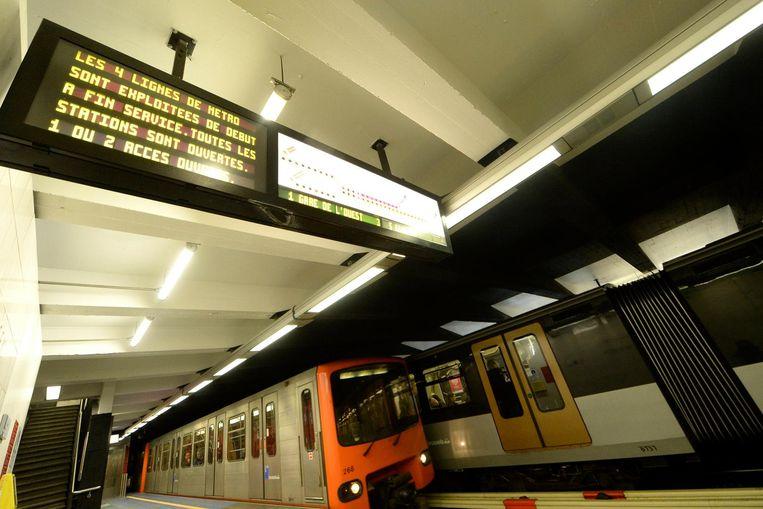 Metrolijnen gedeeltelijk gesloten tijdens Hemelvaartsweekend.