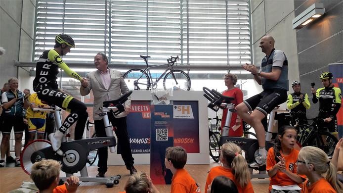 Het eerste idee voor rond de start van de tweede etappe van de Vuelta volgend jaar in Den Bosch komt van wielerteam Coers.