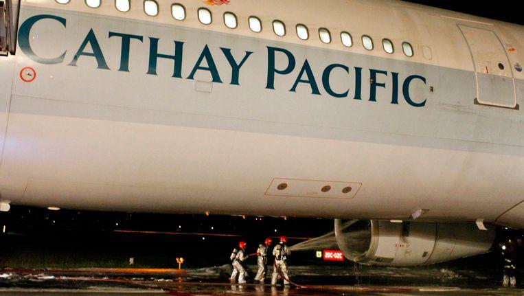 Vliegtuig Cathay Pacific Maakt Noodlanding In Bali Buitenland