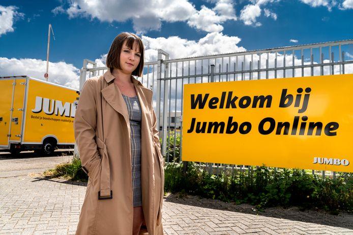 Agata Olejarczyk werkte bij het distributiecentrum van Jumbo in Den Bosch, waar de online bestellingen worden verwerkt.