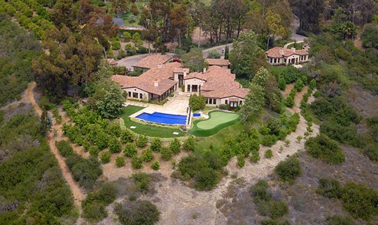 Rancho Sante Fe, één van de optrekjes van Phil Mickelson.