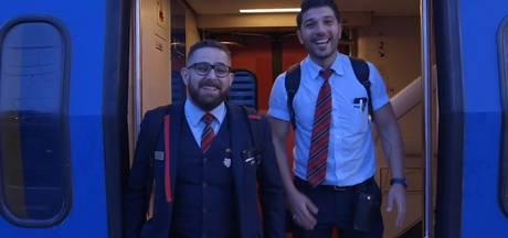 Vlogconducteurs Onur en Mustafa maken een feestje van de Vierdaagse