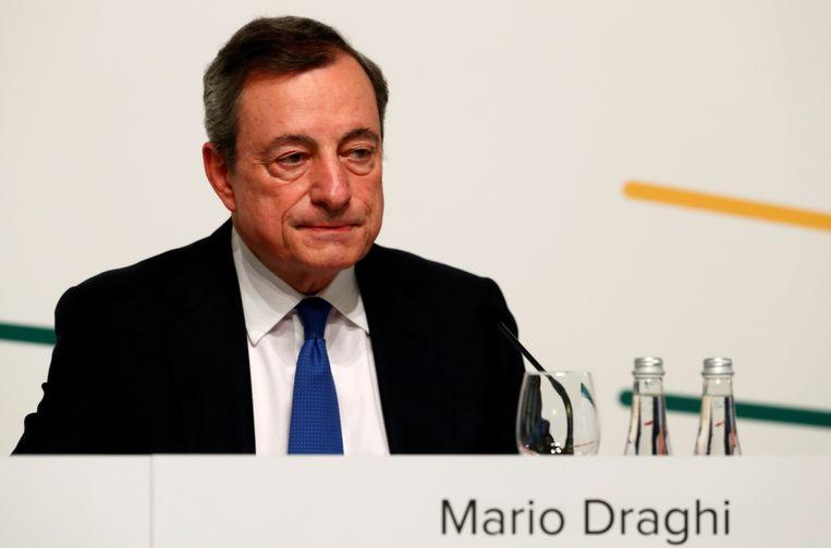 """De ECB haalde opnieuw haar zogenaamde """"bazooka"""" boven, om de economie een duwtje in de rug te geven."""